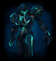 Eldrich Dark Samus 2 by Cryophase