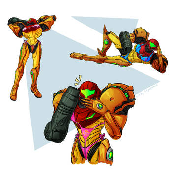 Samus in a Bikini by Cryophase