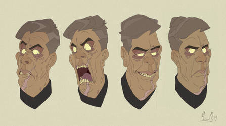 Carlos Expression Sheet by LameReaper