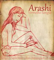 :Sketch: Arashi by DreamGazer-NightAnge