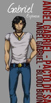::AG-BB:: Gabriel - Character Study by DreamGazer-NightAnge