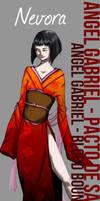 ::AG-BB:: Nevora - Character Study by DreamGazer-NightAnge