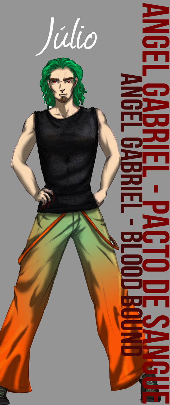 ::AG-BB:: Julio - Character Study by DreamGazer-NightAnge