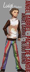 ::AG-BB:: Luigi - Character Study by DreamGazer-NightAnge