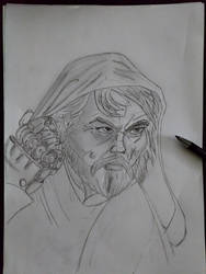 Luke Skywalker study inspired by Muglo  by Barudos