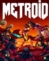Metroid DOOM Cover by FreshillaMan