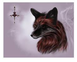 Silver fox by Static-ghost