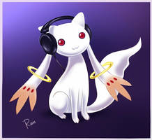 Kyubey by Static-ghost