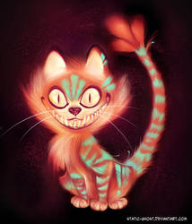 Cheshire cat by Static-ghost