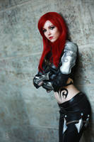 Katarina- You want a fight !? by KyraKitsune