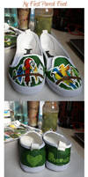 My first parrot feet by Asenceana