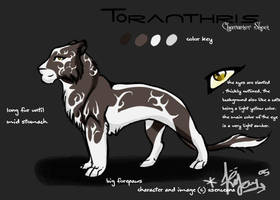 Toranthris Character Sheet by Asenceana