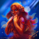 -Vampyroteuthis close up- by Asenceana