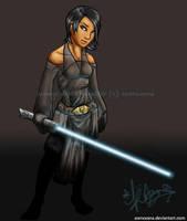 Jedi Knight Adriane by Asenceana
