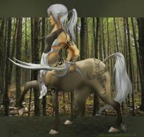Centauress by Asenceana