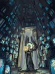 Silmarillion_Mandos cavern by Daswhox