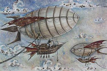 Coffee airship by WoinSveta