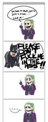 batman: NO HEATH, NO by tentaclees