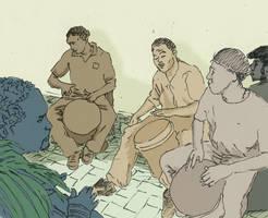 Joueurs de tambour by jesss33