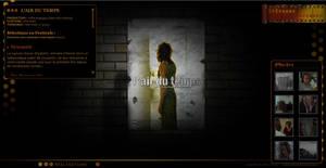 web-design Portfolio Stephane Avenard film by jesss33