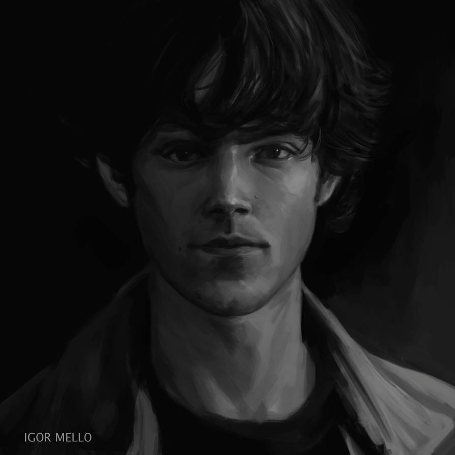 Sam Winchester by xnnw