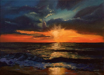 Sunset by Sattriel