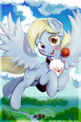 Derpy With Moogle by K1emm