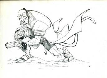Hellboy sketch by Romax25