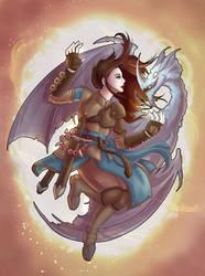 Artemis by mogstomp