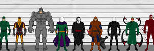 Spider-Man Rogues by QWoods