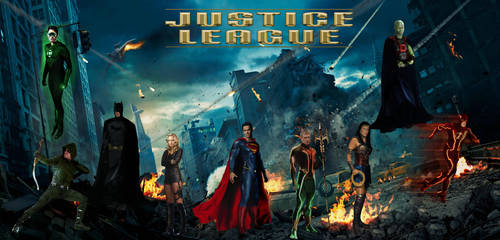 Justice League Unlimited by QWoods