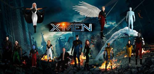 The X-Men. by QWoods