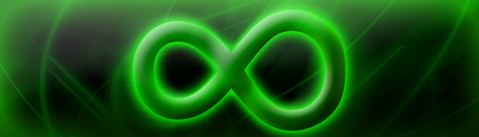 Pure Green Infinity by rodeo111