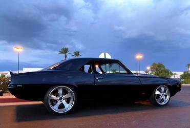 Pitch Black Camaro by Swanee3