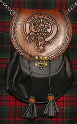 Clan Kerr in black and brown by Sentinel103