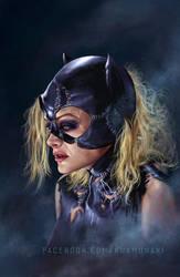 Michelle Pfeiffer Catwoman by SunKhamunaki
