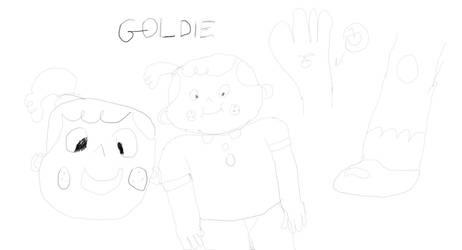 More Goldie Fan Art. by furstman