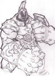 warrior by charlessimpson