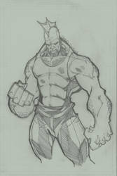 savage dragon by charlessimpson