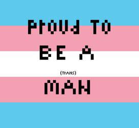 Trans Man Pride by KrazyKatt11