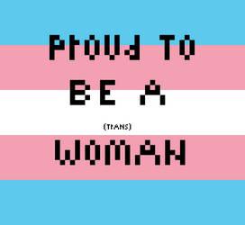 Trans Woman Pride by KrazyKatt11