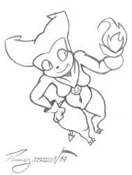 Sexy Sketch - Devilish Data Pt 2 by Timmy-22222001