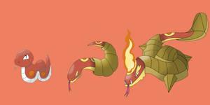 Fire Starter Line Up by IDrew1995