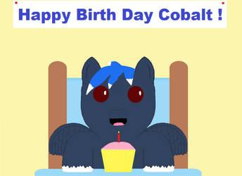 Happy Birth Day CobaltSky by SleepyCloud97