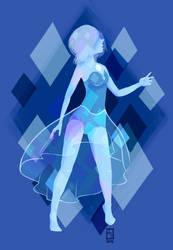blue pearl by Dowlie