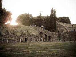 Pompei sunset by piorun