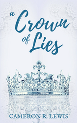 A Crown of Lies book cover by savrom