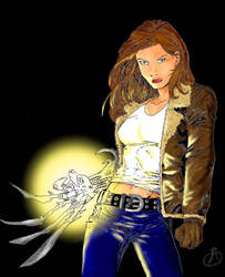 Witchblade - colored by Witchblade-Club