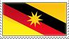 Sarawak Flag Stamp by otakumilitia