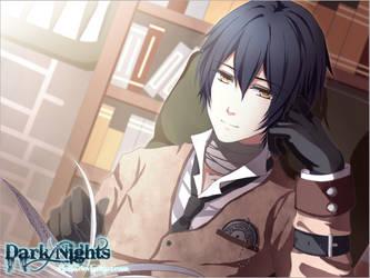 Dark Nights VN - Studying by Pinlin
